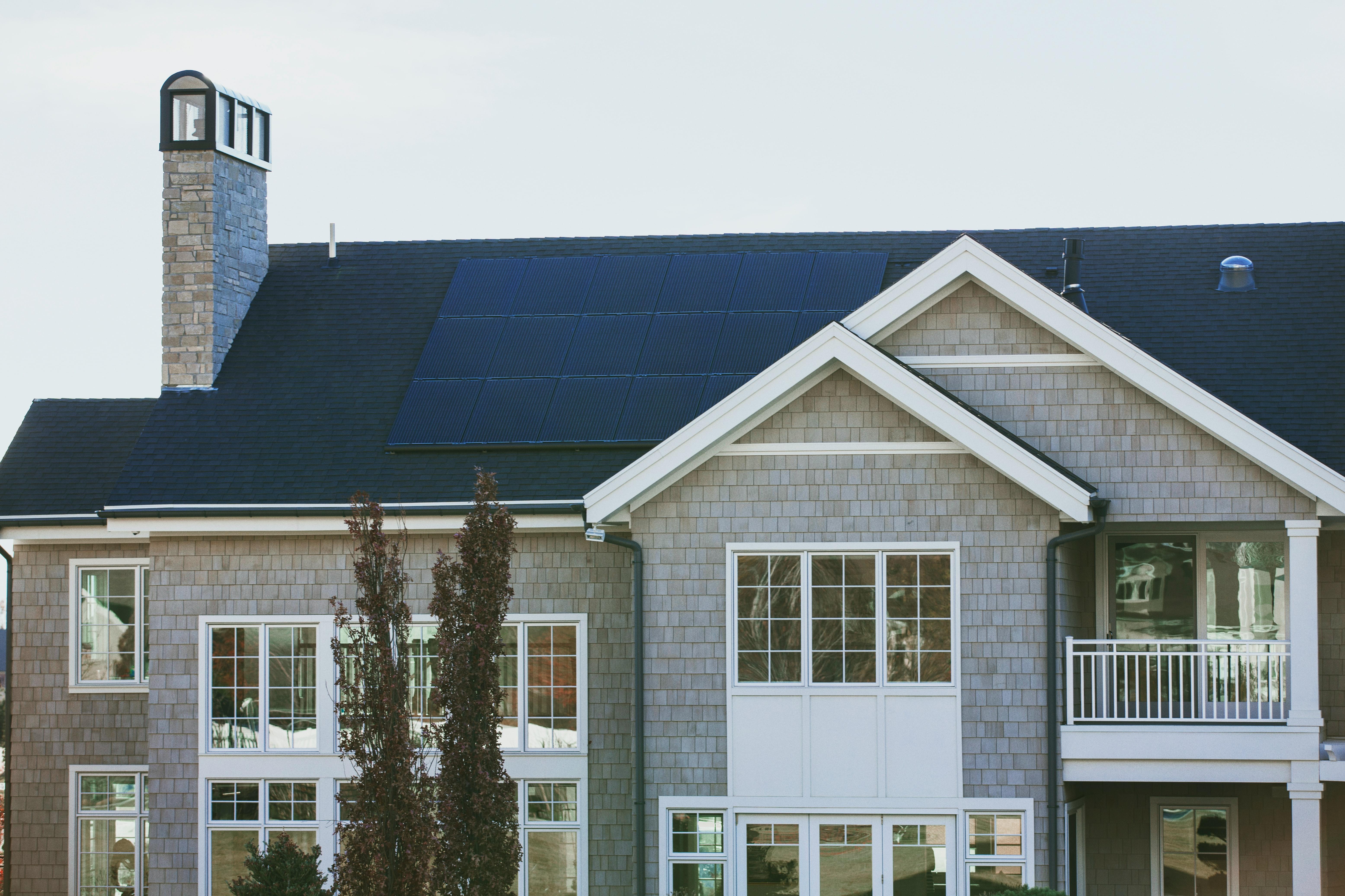 solar panel with cash