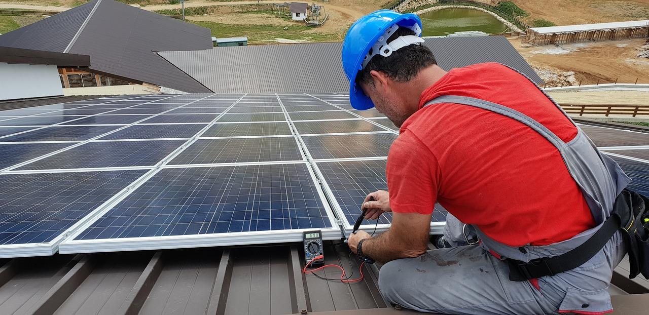 Home solar panels installation by SOLARIT®
